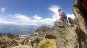 Above Copacabana, Bolivia (Backpacker Steve)