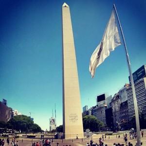Buenos Aires Obelisk (Backpacker Steve)