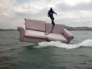 Except this kind of couch surfing, which I don't understand but fully endorse.