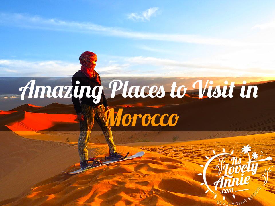 Morocco tourist places
